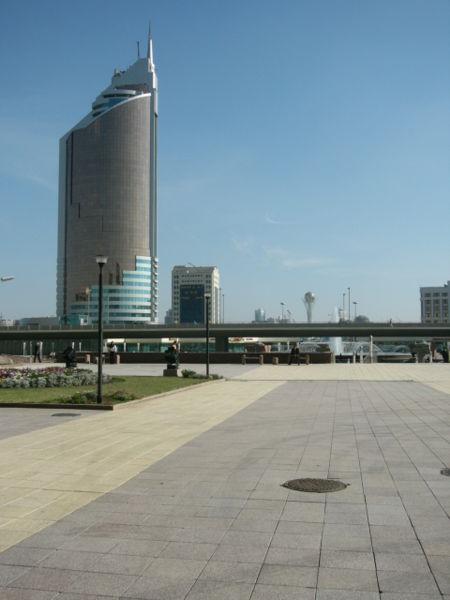 Plaza principal de Astaná